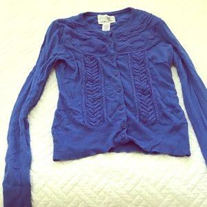 Blue Tabitha cardigan